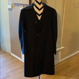 Men's Blue Trench Coat